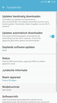Samsung Samsung Galaxy S6 Edge+ (Android M) - software - update installeren zonder pc - stap 5
