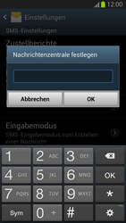 Samsung Galaxy S III - OS 4-1 JB - SMS - Manuelle Konfiguration - 0 / 0