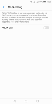 Huawei Y7 (2018) - WiFi - Enable WiFi Calling - Step 7