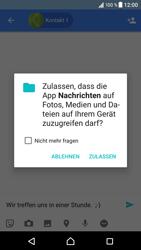 Sony Xperia XZ - MMS - Erstellen und senden - 12 / 18