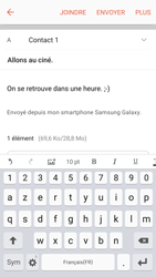 Samsung Galaxy S6 (G920F) - Android M - E-mail - envoyer un e-mail - Étape 17