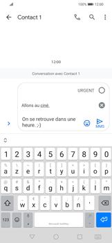 Huawei P Smart 2020 - Contact, Appels, SMS/MMS - Envoyer un MMS - Étape 11