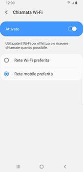 Samsung Galaxy S9 - Android Pie - WiFi - Attivare WiFi Calling - Fase 10