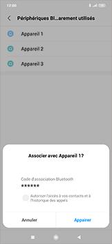 Xiaomi RedMi Note 7 - Bluetooth - Jumelage d