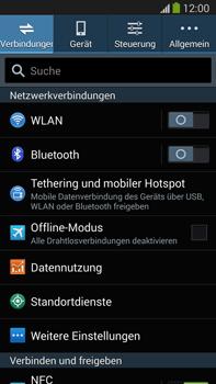 Samsung Galaxy Note III LTE - Netzwerk - Manuelle Netzwerkwahl - Schritt 4