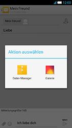 Alcatel OT-6034 Idol S - MMS - Erstellen und senden - Schritt 16