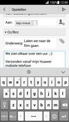 Huawei Ascend G630 - e-mail - hoe te versturen - stap 10
