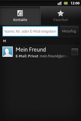 Sony Xperia Go - MMS - Erstellen und senden - 8 / 19