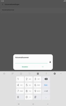 Samsung galaxy-tab-a-10-5-sm-t595-android-pie - Voicemail - Handmatig instellen - Stap 9