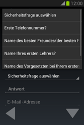 Samsung Galaxy Fame Lite - Apps - Einrichten des App Stores - Schritt 16