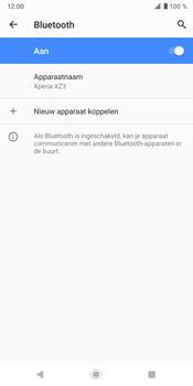Sony Xperia XZ3 - Bluetooth - koppelen met ander apparaat - Stap 13