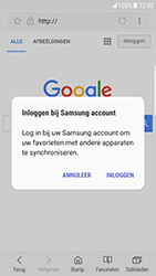 Samsung Galaxy S6 Edge - Android Nougat - internet - hoe te internetten - stap 7
