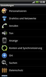 HTC Desire HD - WLAN - Manuelle Konfiguration - 2 / 2
