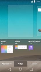 LG Spirit 4G - Operazioni iniziali - Installazione di widget e applicazioni nella schermata iniziale - Fase 5
