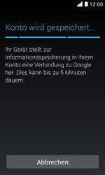 Huawei Ascend Y330 - Apps - Konto anlegen und einrichten - Schritt 18