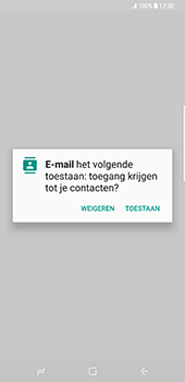 Samsung Galaxy S8 Plus (G955) - E-mail - Account instellen (POP3 zonder SMTP-verificatie) - Stap 5