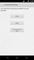 Sony Xperia T - E-Mail - Manuelle Konfiguration - Schritt 7