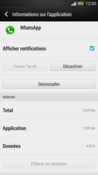 HTC One - Applications - Comment désinstaller une application - Étape 6