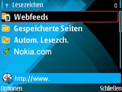 Nokia E71 - Internet - Manuelle Konfiguration - 19 / 29