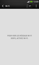 HTC Desire 500 - Wifi - configuration manuelle - Étape 4