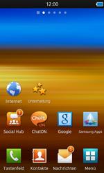 Samsung S8600 Wave 3 - Internet - Automatische Konfiguration - Schritt 5