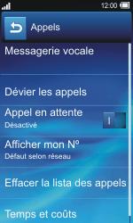 Sony TXT Pro - Messagerie vocale - Configuration manuelle - Étape 5