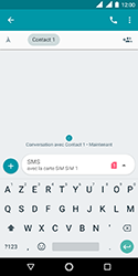 Nokia 3.1 - Contact, Appels, SMS/MMS - Envoyer un SMS - Étape 9