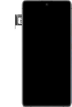 Samsung galaxy-s10-lite-dual-sim-sm-g770f - Instellingen aanpassen - SIM-Kaart plaatsen - Stap 6