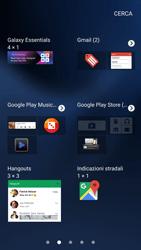 Samsung Galaxy S7 - Operazioni iniziali - Installazione di widget e applicazioni nella schermata iniziale - Fase 4