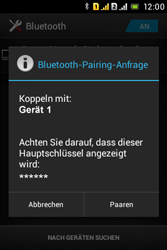 Sony Xperia Tipo Dual - Bluetooth - Geräte koppeln - Schritt 9