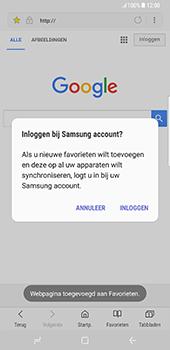 Samsung Galaxy S8 Plus - Internet - Internetten - Stap 10