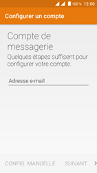 Crosscall Trekker M1 Core - E-mail - Configuration manuelle (outlook) - Étape 5