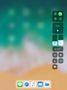 Apple iPad Pro 12.9 inch - iOS 11 - Kontrollzentrum - 7 / 8
