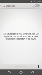 Sony Xperia Z3 Compact 4G (D5803) - Bluetooth - Aanzetten - Stap 4