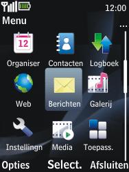 Nokia 2730 classic - Voicemail - handmatig instellen - Stap 4
