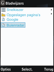 Nokia 2730 classic - internet - hoe te internetten - stap 12