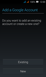 Huawei Y3 - Applications - Create an account - Step 3