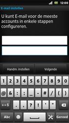 Sony ST25i Xperia U - e-mail - handmatig instellen - stap 6
