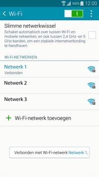 Samsung Galaxy Note 4 (N910F) - WiFi - Handmatig instellen - Stap 9