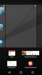 Sony Xperia Z5 - Operazioni iniziali - Installazione di widget e applicazioni nella schermata iniziale - Fase 5