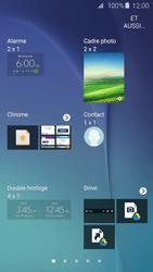 Samsung Galaxy S6 - Prise en main - Installation de widgets et d