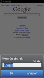 Nokia C7-00 - Internet - navigation sur Internet - Étape 5