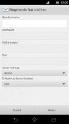 Sony Xperia T - E-Mail - Manuelle Konfiguration - Schritt 8