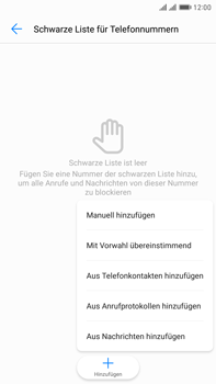 Huawei Mate 9 Pro - Anrufe - Anrufe blockieren - 1 / 1