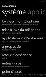 Nokia Lumia 520 - Appareil - Réinitialisation de la configuration d