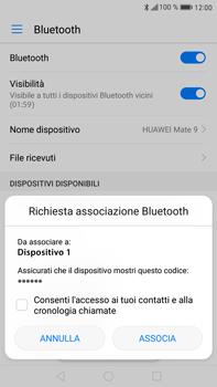 Huawei Mate 9 - Bluetooth - Collegamento dei dispositivi - Fase 6