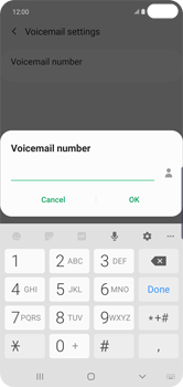 Samsung Galaxy S10 Plus - Voicemail - Manual configuration - Step 12