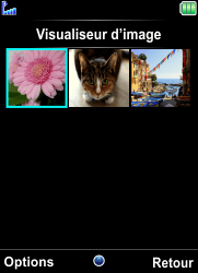Bouygues Telecom Bc 101 - Photos, vidéos, musique - Envoyer une photo via Bluetooth - Étape 5