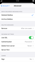 Apple iPhone 7 - iOS 13 - Email - Manual configuration POP3 with SMTP verification - Step 22