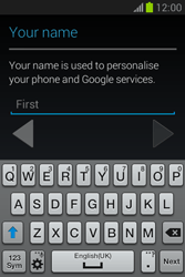 Samsung Galaxy Fame Lite - Applications - Setting up the application store - Step 5